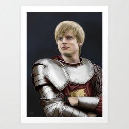 Arthur Pendragon - Once and Future King Art Print