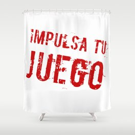 Impulsa tu juego Shower Curtain