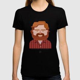 Comics of Comedy: Zach Galifianakis T-shirt