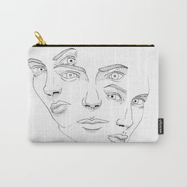 TRIPLE FACED Carry-All Pouch