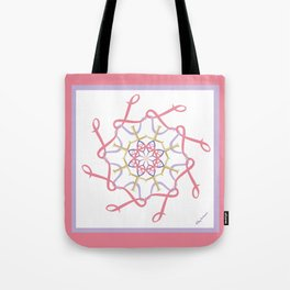Lullaby Mandala - Pink Lavender Tote Bag