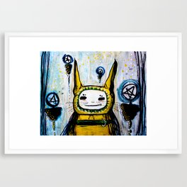 My friend.  Framed Art Print