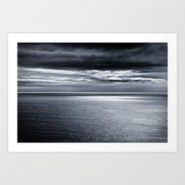 storm over water Art Print