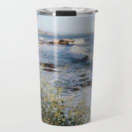 Avila Beach Bluffs Travel Mug