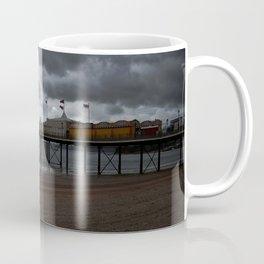 Dark Clouds Over Paignton Pier Coffee Mug
