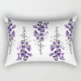 Foxglove Rectangular Pillow
