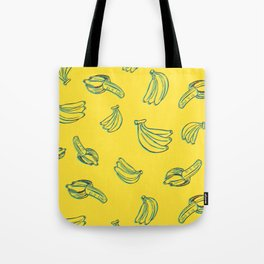 Bananal Pattern Tote Bag