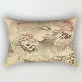 mucha cholo Rectangular Pillow