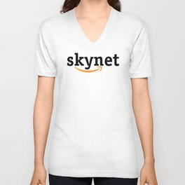 Amazon is Skynet Unisex V-Neck