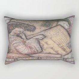 The Lover's Letter Box Rectangular Pillow