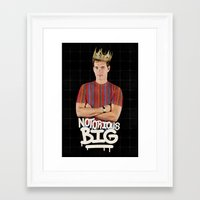 notorious big Framed Art Prints featuring Notorious BIG by Alpha-Tone