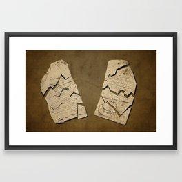 Exodus 32:19 Framed Art Print