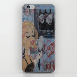 Her Own Worst Critic iPhone Skin