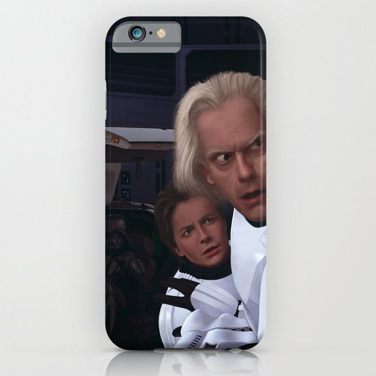I Find Your Lack Of Jiggawatts Disturbing iPhone & iPod Case