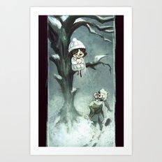 Snowfelt Art Print