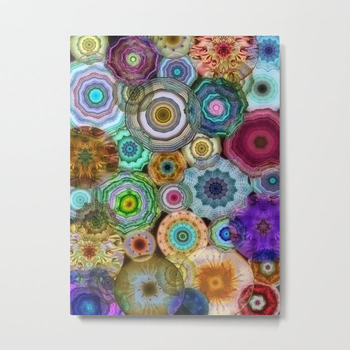 Flowery Meadow 3 Metal Print