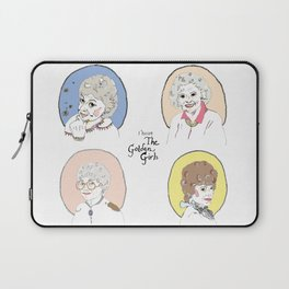I Heart the Golden Girls Print Laptop Sleeve