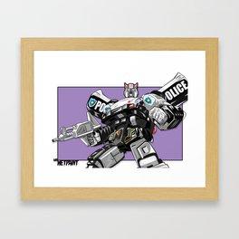Prowl x MrWetpaint Framed Art Print