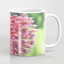 Close Up of An Ornamental Onion or Drumstick Allium Coffee Mug