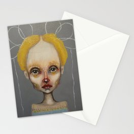grey bo Stationery Cards