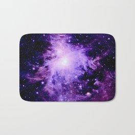 Orion nebUla. : Purple Galaxy Bath Mat