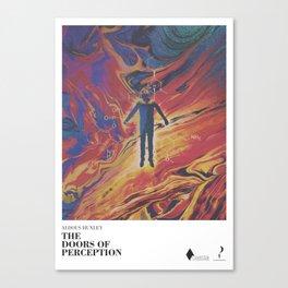 The doors of perception - literary art series Canvas Print