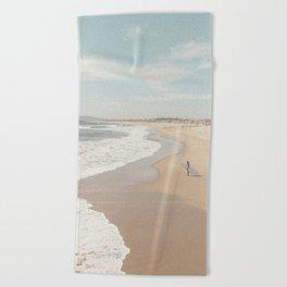 California Beach Beach Towel