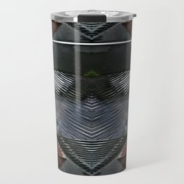 MetallHarta Abstract Travel Mug