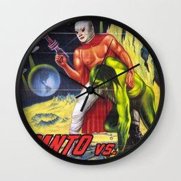La Invasion Wall Clock