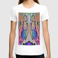gemini T-shirts featuring Gemini by Deb MacNeil