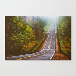 One of Many Roads Canvas Print
