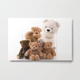 Teddy Bear 001 Metal Print