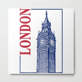 London-Big Ben Metal Print