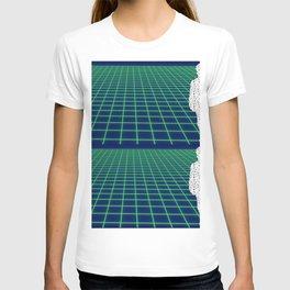 80's Postmodern Mystery Grid T-shirt