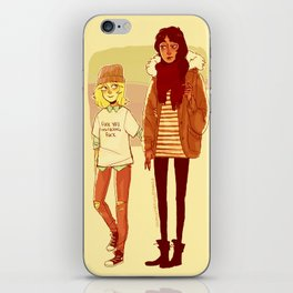 Ymir and Historia iPhone Skin