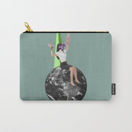 CollageArt :Stranded Carry-All Pouch