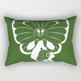 Butterfree! Rectangular Pillow