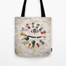 Dancing Circle Deejay Tote Bag