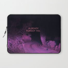 Already Forgot You Laptop Sleeve