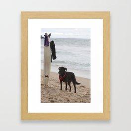 Surf Jalisco Framed Art Print