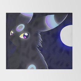 Moonlight - Shiny Umbreon Throw Blanket
