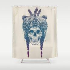 Dead shaman Shower Curtain