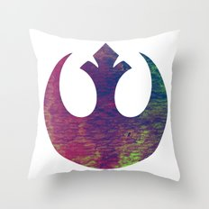 Star Wars Rebel Color Throw Pillow
