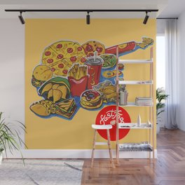 fastfood Wall Mural