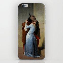 The Kiss (Il Bacio) - Francesco Hayez 1859 iPhone Skin