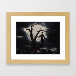 Spooky Halloween Framed Art Print
