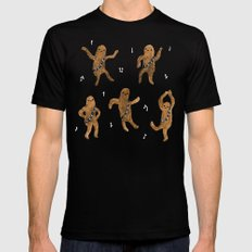 Wookie Dance Party Black X-LARGE Mens Fitted Tee
