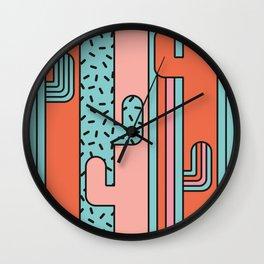 EL CACTO (PRINT) Wall Clock