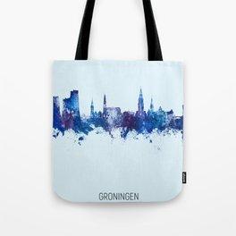 Groningen The Netherlands Skyline Tote Bag