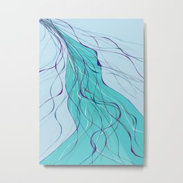 Fine lines Metal Print